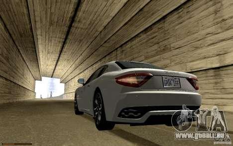 Maserati Gran Turismo 2008 pour GTA San Andreas moteur