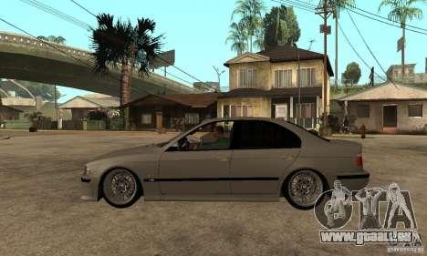 BMW E39 M5 Sedan für GTA San Andreas linke Ansicht