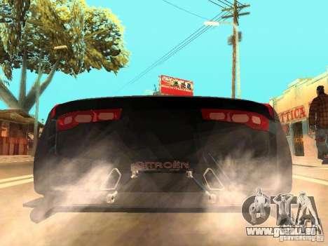 Citroen GT Gran Turismo pour GTA San Andreas sur la vue arrière gauche