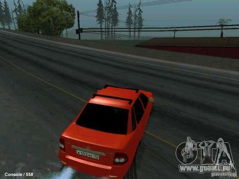 LADA 2170 102-RUS pour GTA San Andreas vue de droite