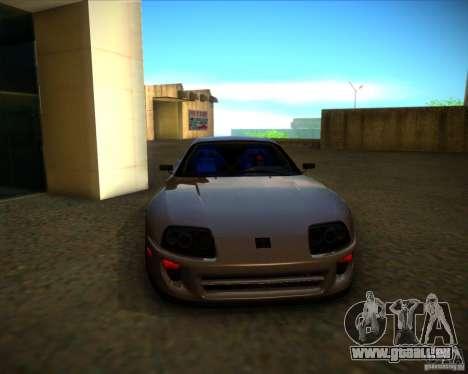 Toyota Supra SHE pour GTA San Andreas vue de dessus