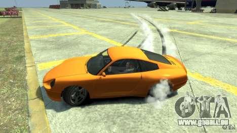 Drift Handling Mod pour GTA 4 troisième écran