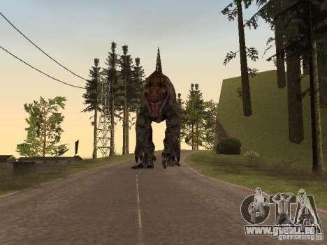 Dinosaurs Attack mod pour GTA San Andreas neuvième écran
