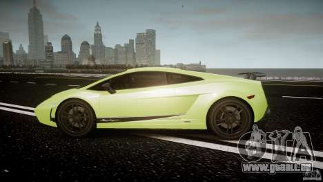 Lamborghini Gallardo LP570-4 Superleggera 2010 für GTA 4 linke Ansicht