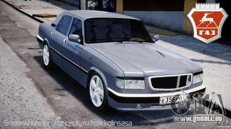 GAZ 3110 Turbo WRX STI v1. 0 für GTA 4
