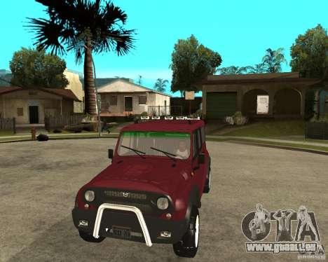 3159-UAZ Hunter (Hunter) pour GTA San Andreas vue arrière