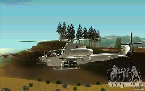 AH-1Z Viper für GTA San Andreas linke Ansicht