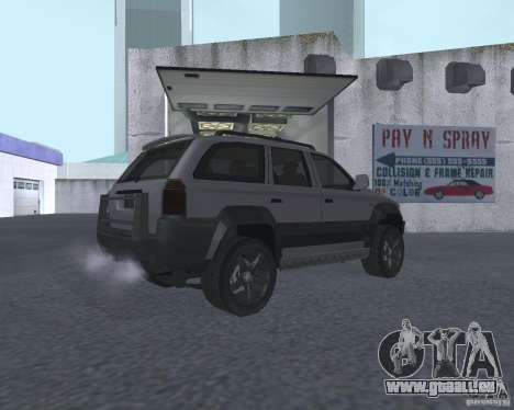 VUS depuis NFS pour GTA San Andreas vue de droite
