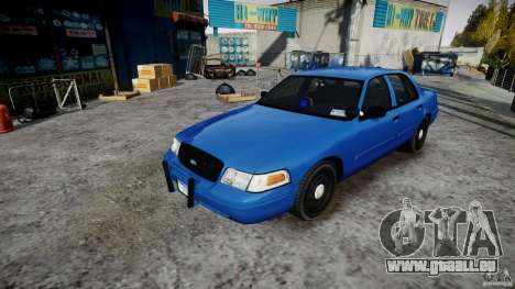 Ford Crown Victoria Detective v4.7 [ELS] pour GTA 4