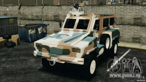 RG-31 Nyala SANDF pour GTA 4