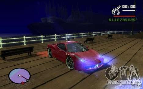 ENBseries by Gasilovo pour GTA San Andreas troisième écran
