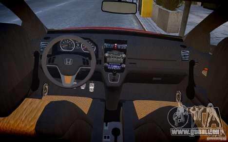 Honda CR-V Light Tuning pour GTA 4 Vue arrière