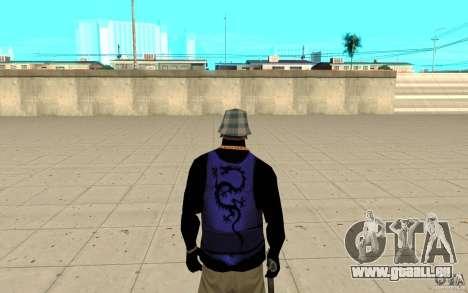 Bronik peau 2 pour GTA San Andreas troisième écran