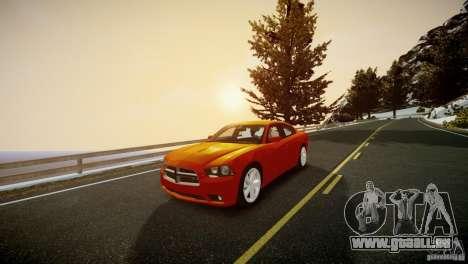Dodge Charger R/T 2011 Max pour GTA 4 est un droit