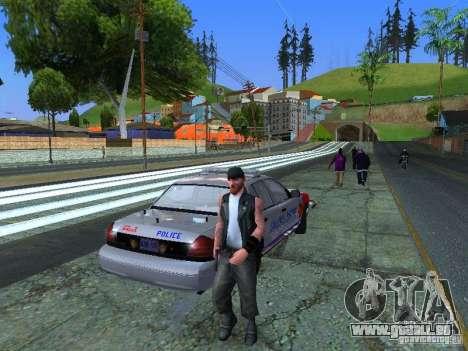 Ford Crown Victoria Police Patrol für GTA San Andreas linke Ansicht