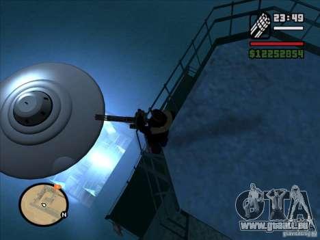 Geheimnisvolle UFOs in der Area 51 für GTA San Andreas zweiten Screenshot