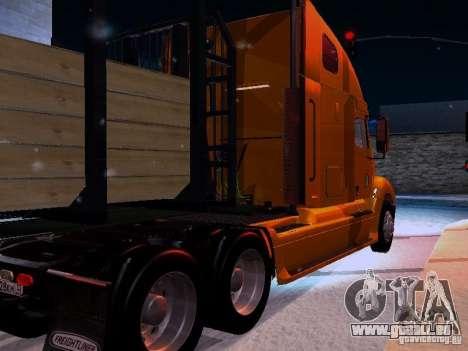 Freightliner Columbia pour GTA San Andreas vue de droite