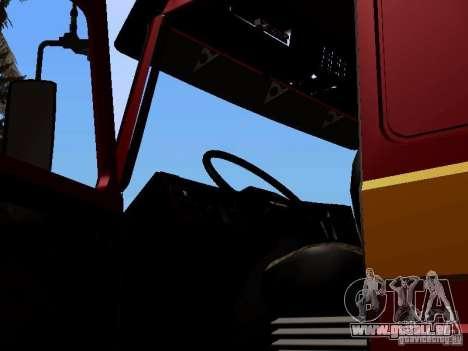 Scania 143M pour GTA San Andreas vue arrière