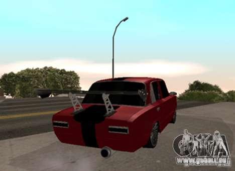 VAZ 2101 Drag für GTA San Andreas zurück linke Ansicht