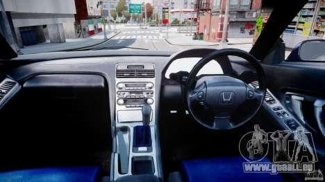 Honda NSX NA2 [Beta] pour GTA 4 Vue arrière