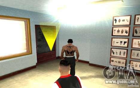 Hollywood Undead Tatoo pour GTA San Andreas quatrième écran