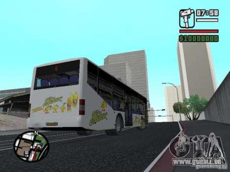 LAZ InterLAZ 12 pour GTA San Andreas laissé vue