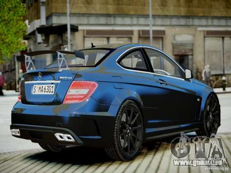 Mercedes-Benz C63 AMG Black Series 2012 v1.0 pour GTA 4