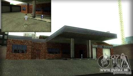 Neue Texturen für die Garage und das Gebäude in  für GTA San Andreas