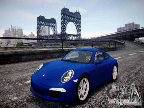 Porsche 911 Carrera S 2012 pour GTA 4