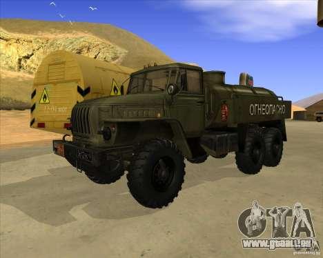 Ural 4320 camion pour GTA San Andreas