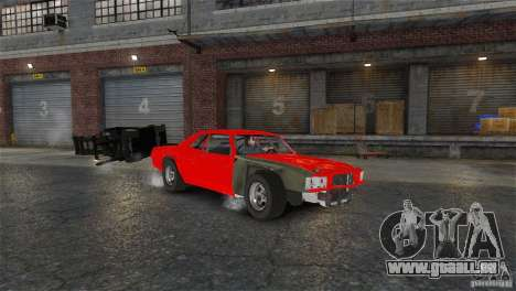 Jupiter Eagleray MK5 v.1 für GTA 4 rechte Ansicht