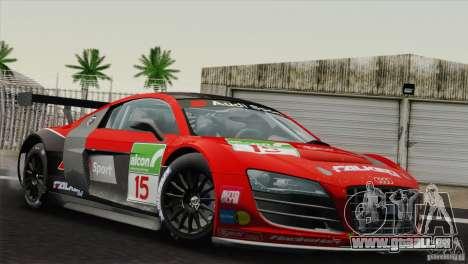 Audi R8 LMS v2.0.1 für GTA San Andreas