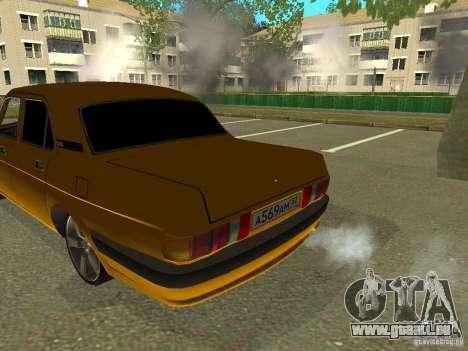 GAZ Volga 3102 für GTA San Andreas zurück linke Ansicht