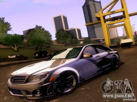 Mercedes-Benz C36 AMG für GTA San Andreas Rückansicht
