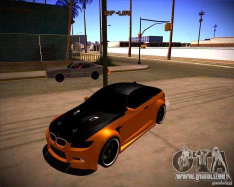 BMW M3 E92 Drift Version pour GTA San Andreas