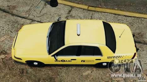 Ford Crown Victoria NYC Taxi 2004 pour GTA 4 est un droit