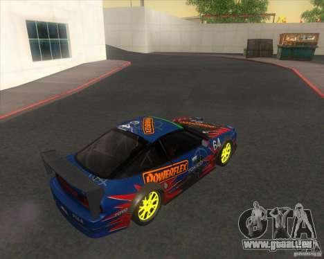 Nissan 240SX for drift pour GTA San Andreas laissé vue