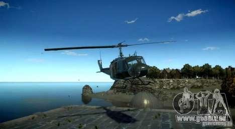 Bell UH-1D German Bundeswehr für GTA 4 rechte Ansicht