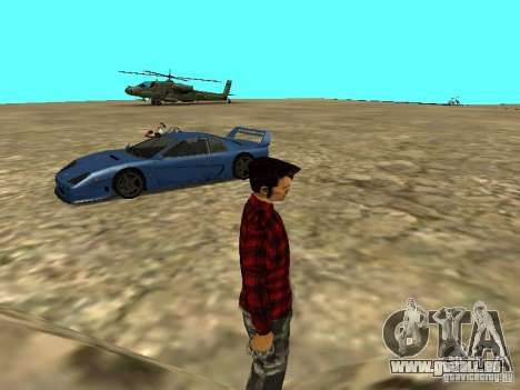 Véhicules neufs autour de l'État pour GTA San Andreas