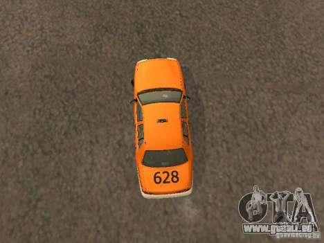 Ford Crown Victoria San Francisco Cab für GTA San Andreas Innenansicht