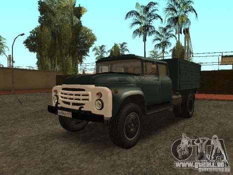 ZIL-130-Doppelkabine für GTA San Andreas