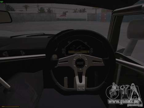 TVR Cerbera Speed 12 pour GTA San Andreas salon