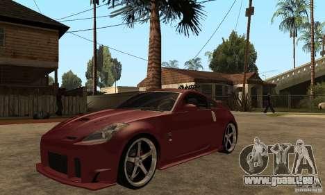 Nissan 350Z JC2 für GTA San Andreas