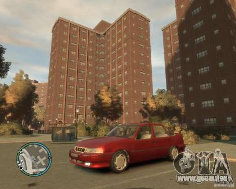 Daewoo Nexia DOHC pour GTA 4 est une gauche