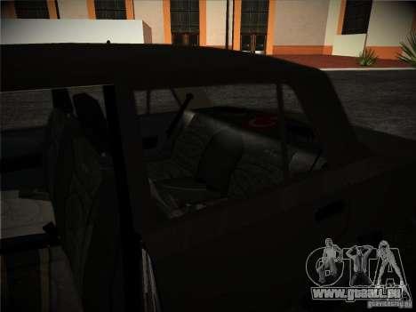 Tofas 124 Serçe für GTA San Andreas Innenansicht