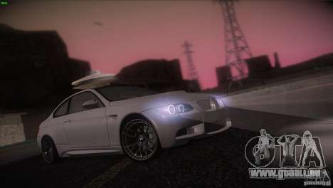 BMW M3 E92 pour GTA San Andreas