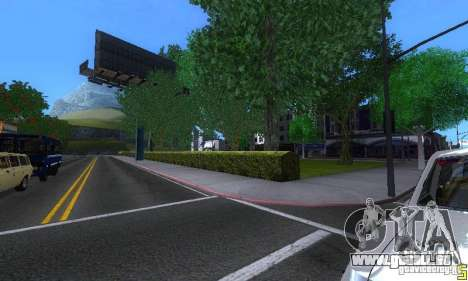 NEW STREET SF MOD pour GTA San Andreas neuvième écran