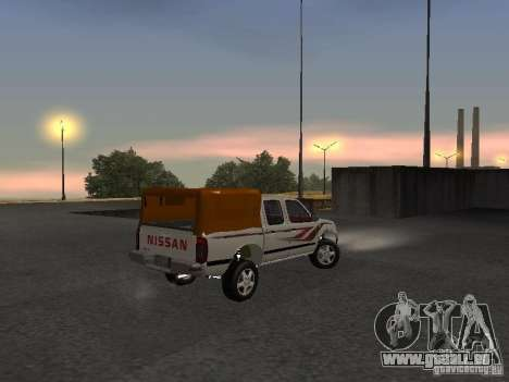Nissan Pickup für GTA San Andreas rechten Ansicht