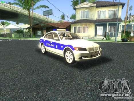BMW 330i YPX für GTA San Andreas Seitenansicht
