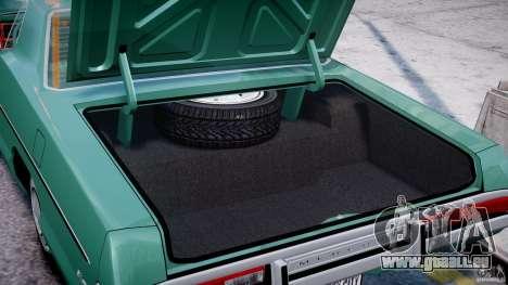 Mercury Monterey 2DR 1972 für GTA 4 Seitenansicht